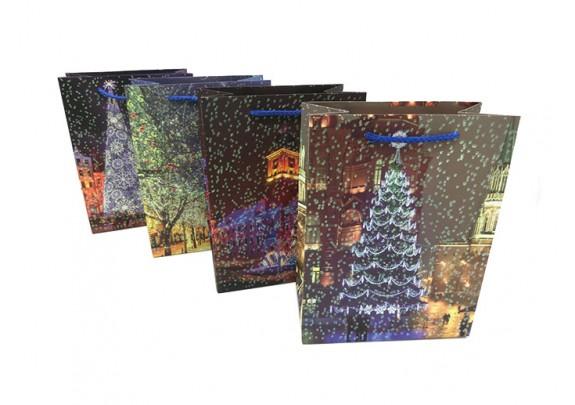 Пакет 10388-6 Новый год/картон/18*23*10