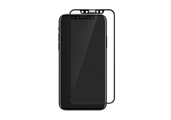 Защитное стекло iPhone X/XS 5D black