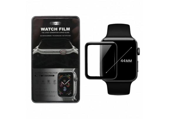 Защитное стекло Apple Watch 3D/44мм/черное