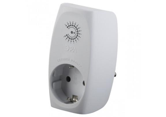 Сетевой фильтр ЭРА SF1e-W/с заземл/со шт/1гн/белый