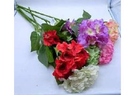 Цветок 0420-1  гортензия/бутон 21 см/90см