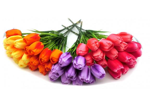 Цветок Z006-5 тюльпан/41см