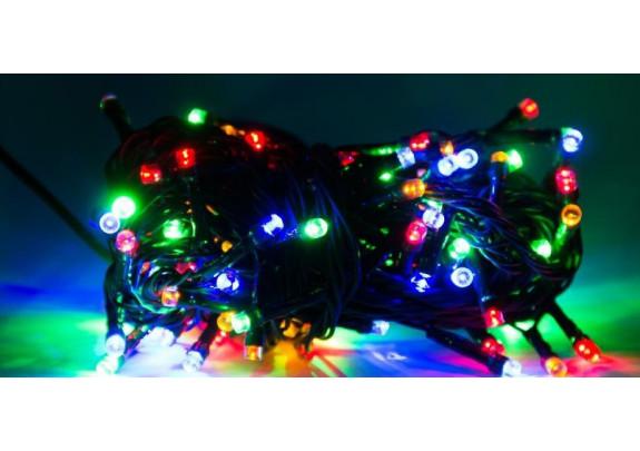 Электрогирлянда 240 ламп MHX /разноцв/ 7м