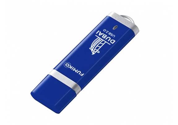 Флэш-драйв FUMIKO 16GB DUBAI  Blue