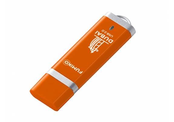 Флэш-драйв FUMIKO 16GB DUBAI  Orange