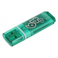 Флэш-драйв Smart Buy 64Gb Glossy Series Green