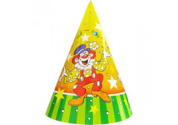 Колпачок Клоун с мячом 6 шт.