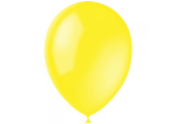 Шар 23см Пастель/YELLOW/004/100 шт