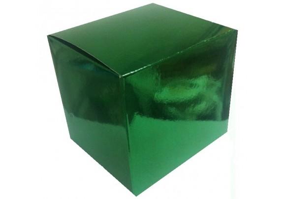 Коробка д/кружки/Зеленая/WM038