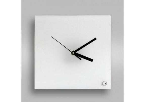 Часы стекло 20*20/BL-26 квадрат