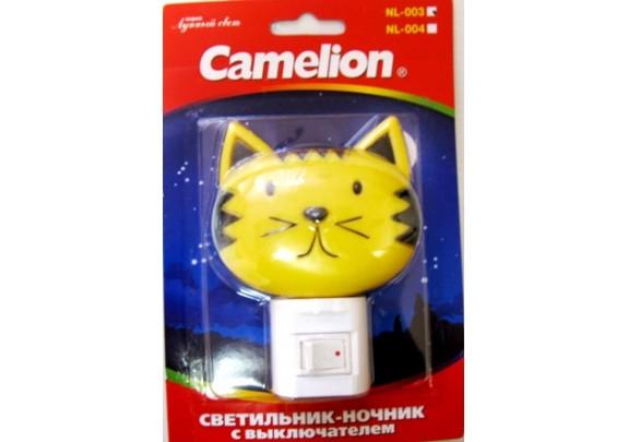Ночник CAMELION NL-003 (Кошка, 7W, 220)