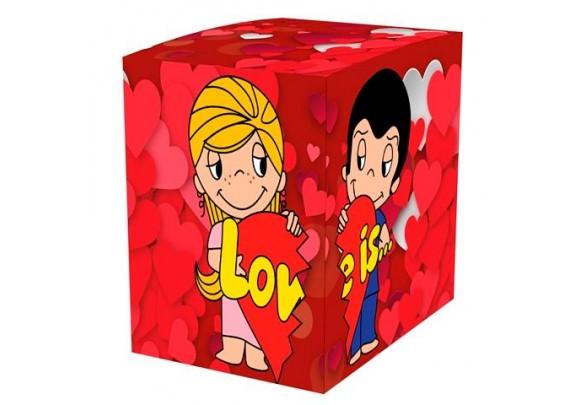 Коробка д/кружки/LOVE IS...