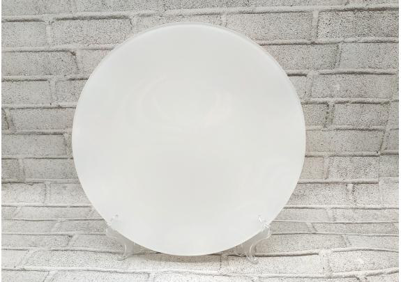 Тарелка 3D/стекло/подставка/25см/GHP-12
