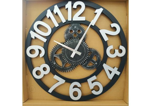 Часы 6681B настенные 40*40см/пластик