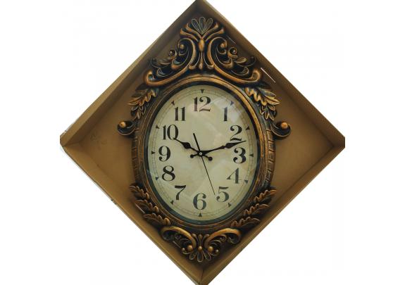Часы 6570B настенные/28*35см/пластик
