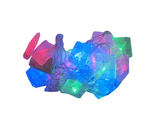 Электрогирлянда G2019-2 Ромбики LED/20ламп/3.5м