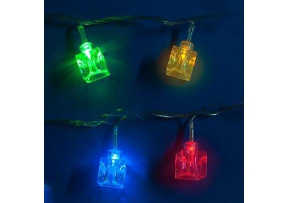 Электрогирлянда G2019-3 Кубики льда LED/20ламп/3.5
