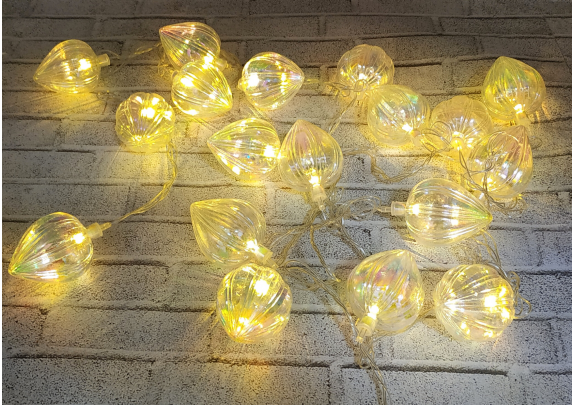 Электрогирлянда G2019-14 Фонарики LED/20ламп 5*6см