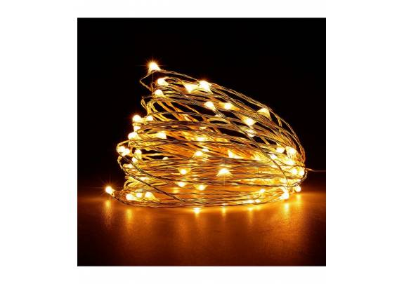 Электрогирлянда 200 LEDTX01 Нить/желтый/2м