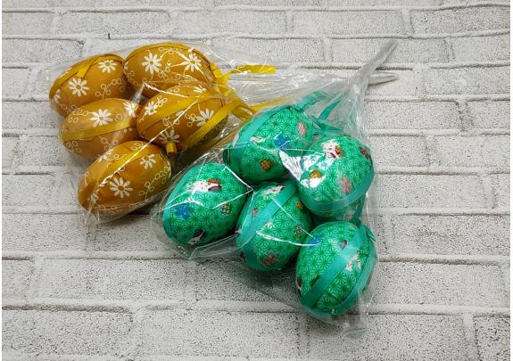 Декор B18139 Пасхальные яйца/набор 5шт