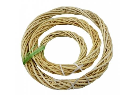 Декор кольцо плетенное дерево D133/20см
