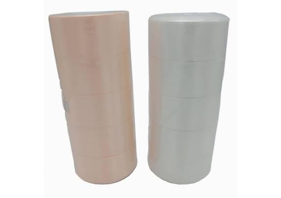 Лента 01-07 атлас/ш=4см/д=27,5м/молочный